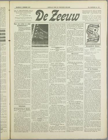 De Zeeuw. Christelijk-historisch nieuwsblad voor Zeeland 1937-02-08