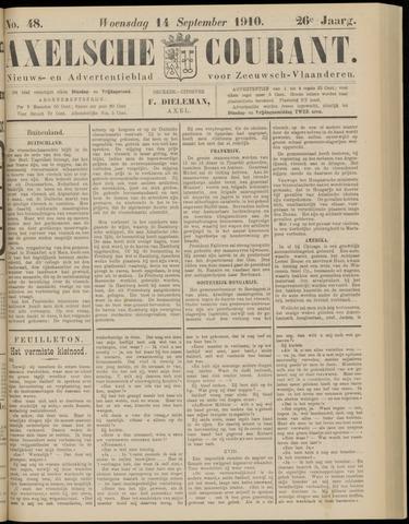 Axelsche Courant 1910-09-14