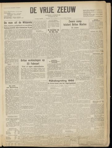 de Vrije Zeeuw 1950-01-14