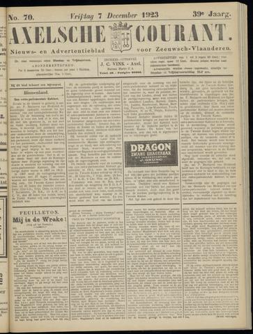 Axelsche Courant 1923-12-07