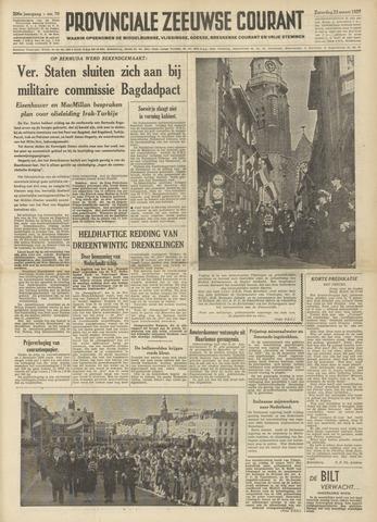 Provinciale Zeeuwse Courant 1957-03-23