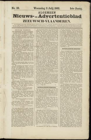 Ter Neuzensche Courant. Algemeen Nieuws- en Advertentieblad voor Zeeuwsch-Vlaanderen / Neuzensche Courant ... (idem) / (Algemeen) nieuws en advertentieblad voor Zeeuwsch-Vlaanderen 1861-07-03