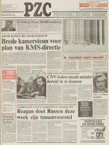 Provinciale Zeeuwse Courant 1983-03-29