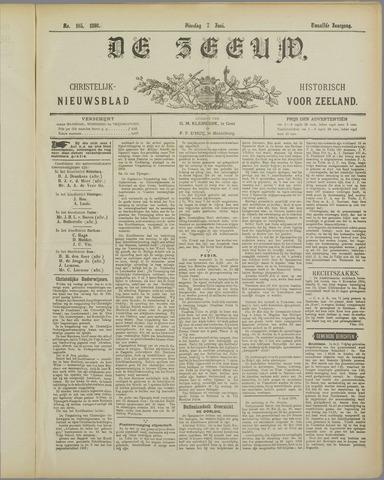 De Zeeuw. Christelijk-historisch nieuwsblad voor Zeeland 1898-06-07