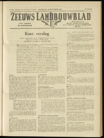 Zeeuwsch landbouwblad ... ZLM land- en tuinbouwblad 1960-09-24