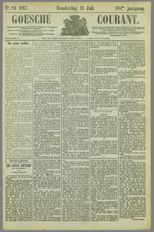 Goessche Courant 1917-07-19
