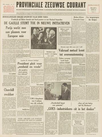 Provinciale Zeeuwse Courant 1965-01-21