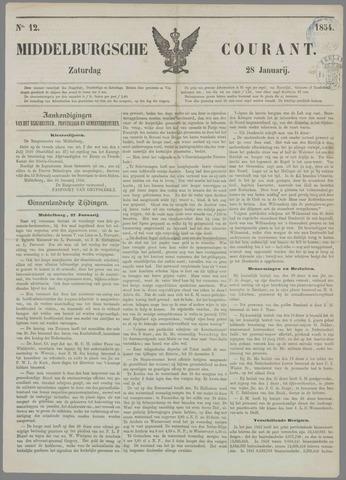 Middelburgsche Courant 1854-01-28