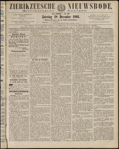 Zierikzeesche Nieuwsbode 1901-12-28