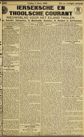 Ierseksche en Thoolsche Courant 1929-03-08