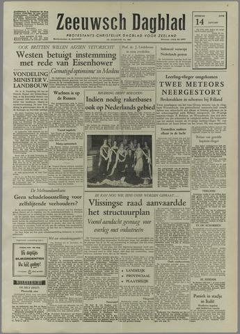 Zeeuwsch Dagblad 1958-01-14