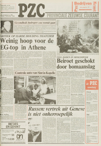 Provinciale Zeeuwse Courant 1983-12-06