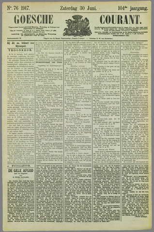 Goessche Courant 1917-06-30
