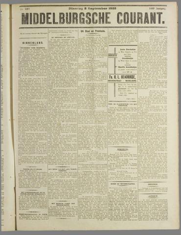 Middelburgsche Courant 1925-09-08