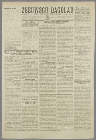 Zeeuwsch Dagblad 1945-04-21