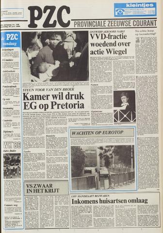 Provinciale Zeeuwse Courant 1986-06-25