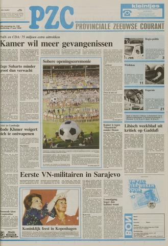 Provinciale Zeeuwse Courant 1992-06-11