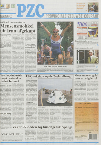 Provinciale Zeeuwse Courant 2000-07-07