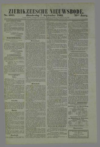 Zierikzeesche Nieuwsbode 1882-09-07
