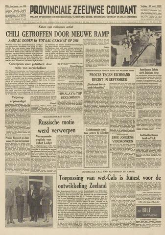 Provinciale Zeeuwse Courant 1960-05-27