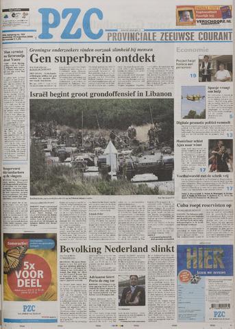 Provinciale Zeeuwse Courant 2006-08-10