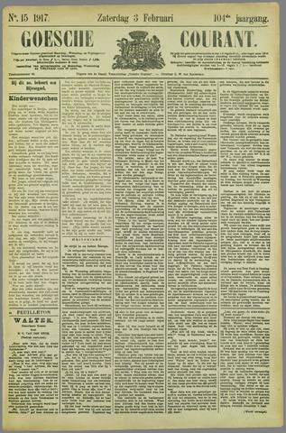 Goessche Courant 1917-02-03