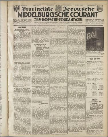 Middelburgsche Courant 1936-02-06