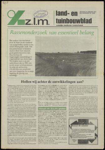 Zeeuwsch landbouwblad ... ZLM land- en tuinbouwblad 1981-01-23