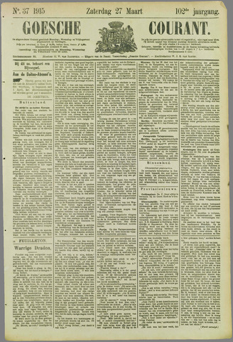 Goessche Courant 1915-03-27