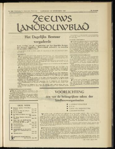 Zeeuwsch landbouwblad ... ZLM land- en tuinbouwblad 1961-11-18
