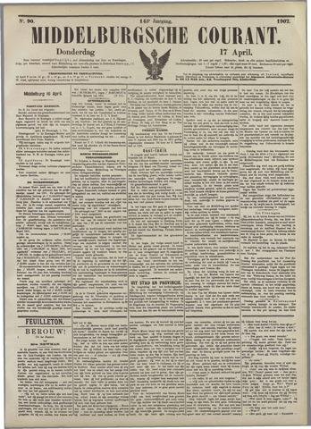 Middelburgsche Courant 1902-04-17
