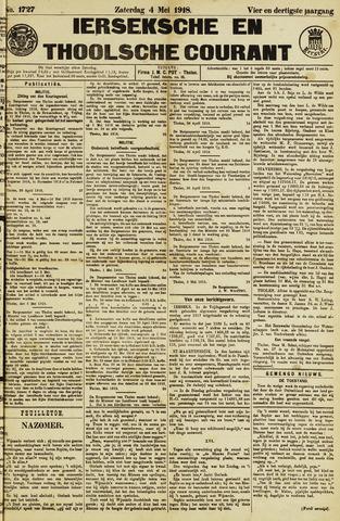 Ierseksche en Thoolsche Courant 1918-05-04