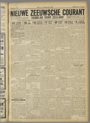 Nieuwe Zeeuwsche Courant 1922-08-01