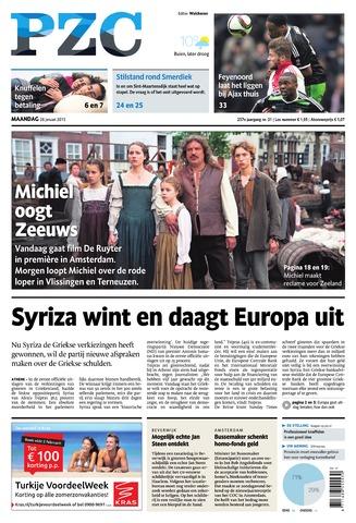 Provinciale Zeeuwse Courant 2015-01-26