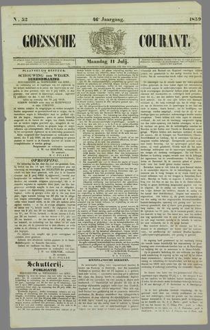 Goessche Courant 1859-07-11