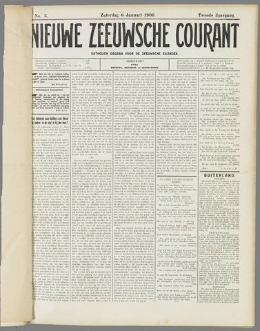 Nieuwe Zeeuwsche Courant 1906-01-06