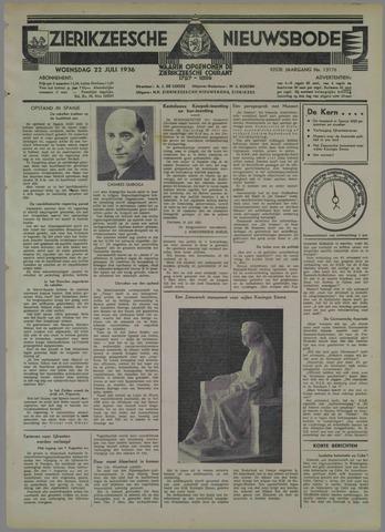 Zierikzeesche Nieuwsbode 1936-07-22
