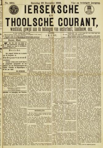 Ierseksche en Thoolsche Courant 1906-12-22