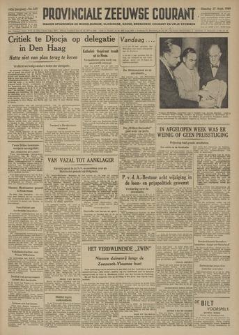 Provinciale Zeeuwse Courant 1949-09-27