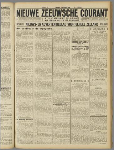 Nieuwe Zeeuwsche Courant 1930-10-21