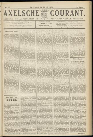 Axelsche Courant 1931-07-24