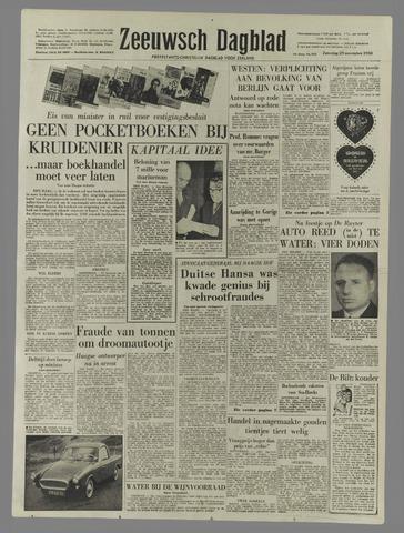 Zeeuwsch Dagblad 1958-11-29