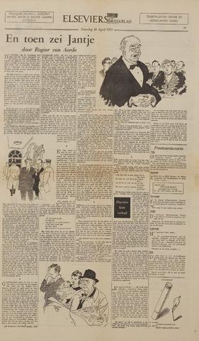 Watersnood documentatie 1953 - kranten 1953-04-18