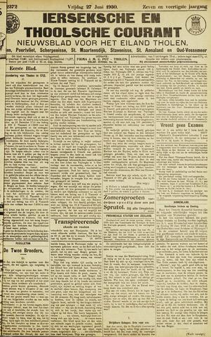 Ierseksche en Thoolsche Courant 1930-06-27