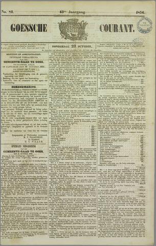 Goessche Courant 1856-10-23