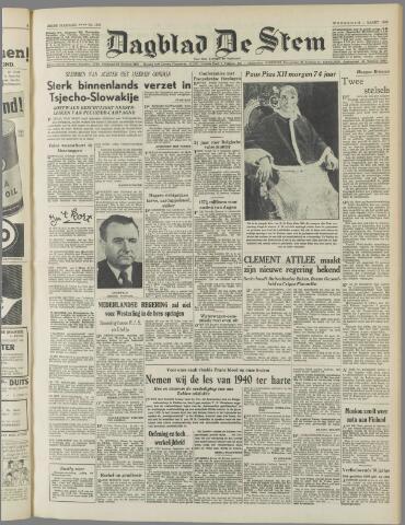 de Stem 1950-03-01