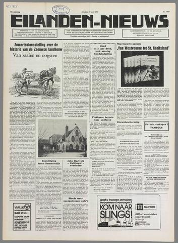 Eilanden-nieuws. Christelijk streekblad op gereformeerde grondslag 1980-07-15