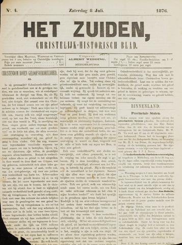 Het Zuiden, Christelijk-historisch blad 1876-07-08