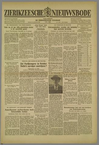 Zierikzeesche Nieuwsbode 1952-08-22