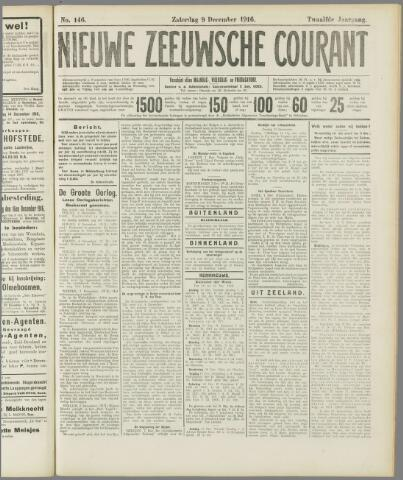 Nieuwe Zeeuwsche Courant 1916-12-09